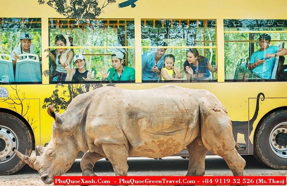 Visit Vinpearl Safari Phu Quoc