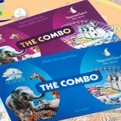 Vé Combo VinWonders Phú Quốc và Safari Phú Quốc GIÁ RẺ NHẤT