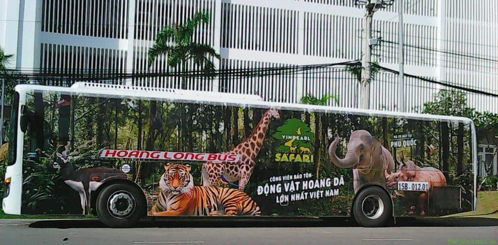 xe dua don khach di vinpearl land vinpearl safari phu quoc