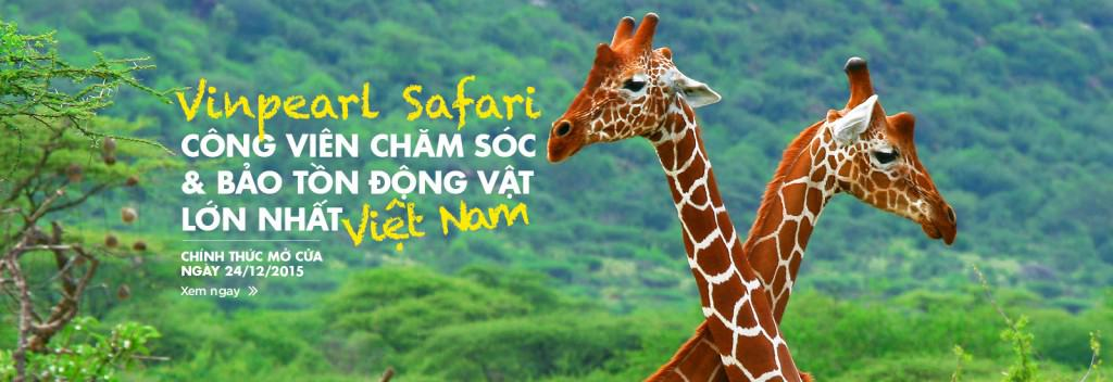 khai trương vinpearl safari