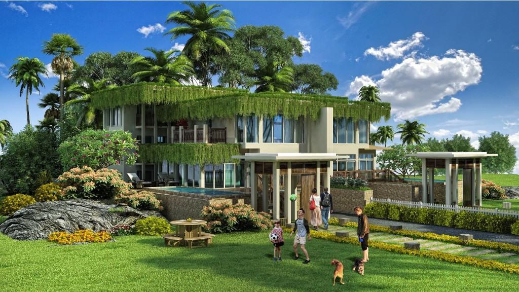 resort mui ong doi phu quoc xanh