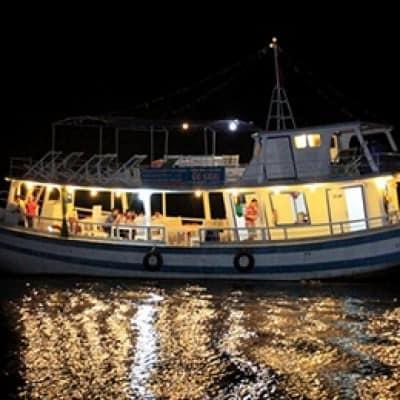 Cho thuê tàu câu mực đêm tại Phú Quốc