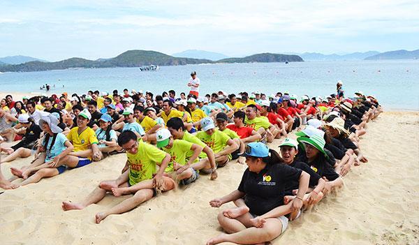 team building bãi biển phú quốc