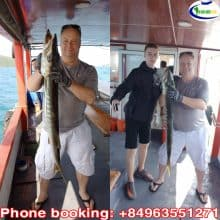 Tour Câu Cá Chạy -Câu Cá Lớn Phú Quốc SIÊU CHẤT