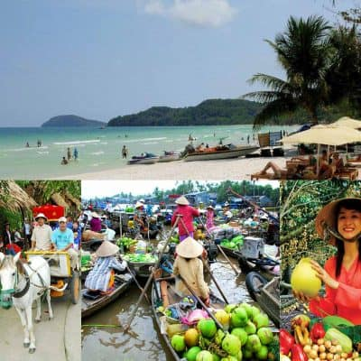 Tour Phú Quốc - Hà Tiên - Cà Mau - Cần Thơ