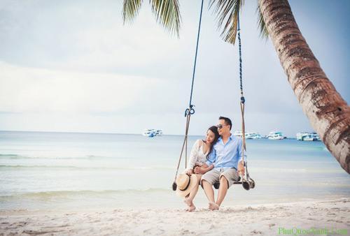 Kết quả hình ảnh cho chụp ảnh cưới ở biển Phú Quốc