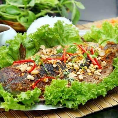 """""""BÍ KÍP"""" nướng cá mú thơm lừng khi đến Phú Quốc vào dịp tết 2020"""