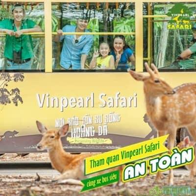 Tour Phú Quốc 4 ngày 3 đêm Vinpearl Safari