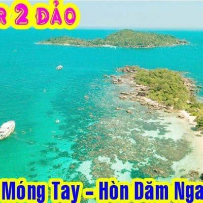Tour Khám Phá Hòn Móng Tay Ghép Khách Hàng Ngày Tại Phú Quốc