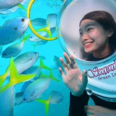 Tour Đi Bộ Dưới Biển Khám Phá Đại Dương Phú Quốc -  Seawalker