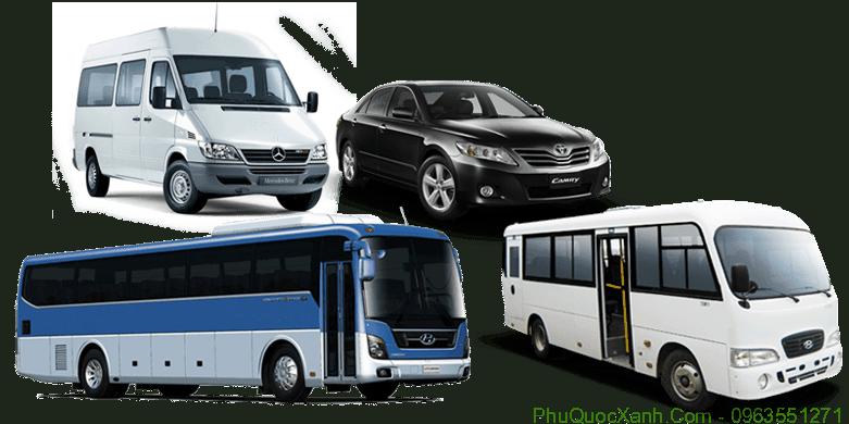 Cho thuê xe ô tô tại đảo phú quốc