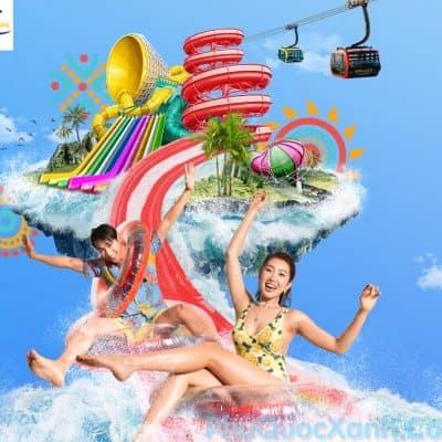 Vé Cáp Treo Hòn Thơm Phú Quốc - Vé công viên nước Hòn Thơm Aquatopia Water Park