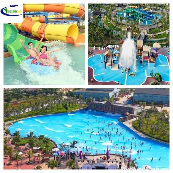 """Bí kíp vui chơi"""" công viên nước Hòn Thơm - Aquatopia Water Park"""