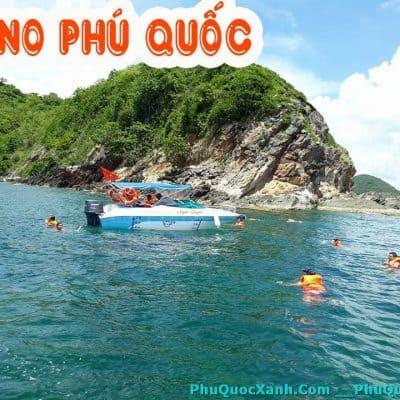 Cho Thuê Cano Phú Quốc Đi 4 Đảo -  5 Đảo Giá Tốt Nhất