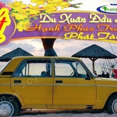 Cho thuê xe Tết tại Phú Quốc CHUYÊN XE ĐI TOUR TẾT PHÚ QUỐC 2020