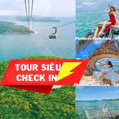 """Tour 5 Đảo Phú Quốc 1 Ngày """" TẶNG VÉ CÁP TREO HÒN THƠM"""""""